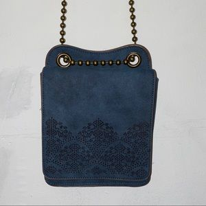 Boho ball and chain bag